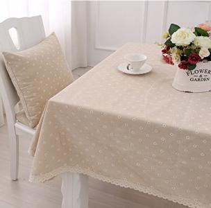 mantel de mesa moderno de flores
