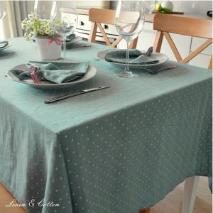 Mantel de mesa moderno elegante