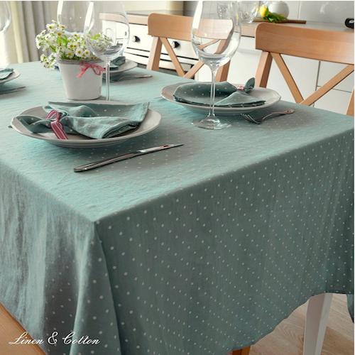 Mantel de mesa moderno elegante manteles para mesa modernos for Modelos de mesas cuadradas