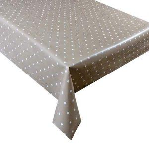 Mantel mesa moderno para decoración de lunares