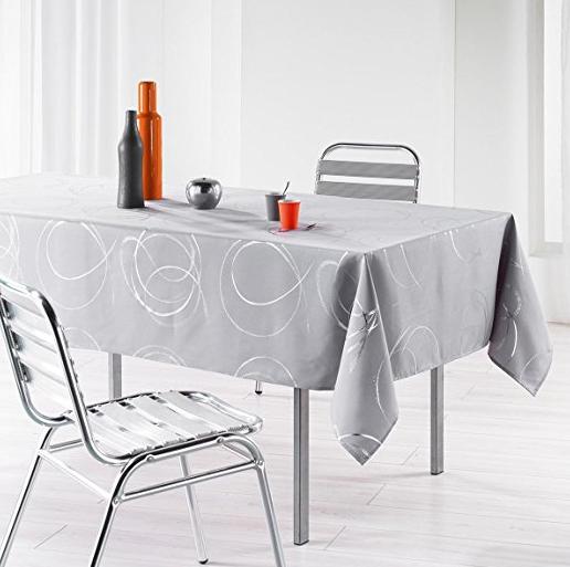 Manteles de mesas gris plata modernos manteles para mesa for Manteles de mesa