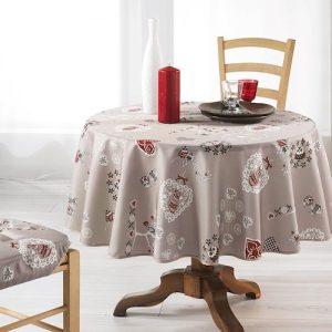 Mantel de tela para mesa vintage