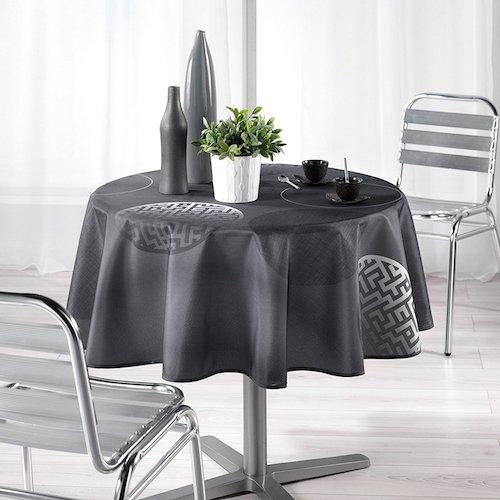 Manteles de tela para mesas redondas