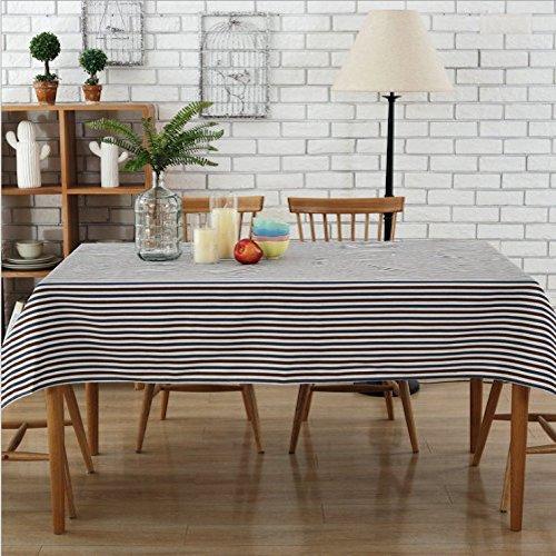 Mantel para mesa de rayas moderno manteles para mesa modernos - Mantel para mesa exterior ...