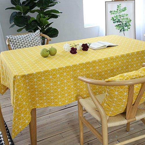 Manteles para mesa moderno amarillo