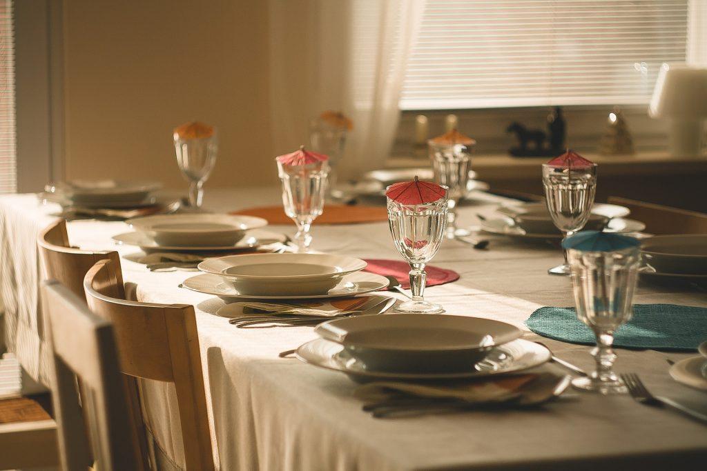 manteles para mesas grandes